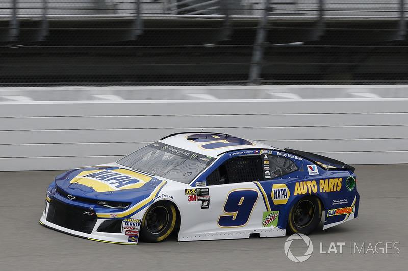 21. Chase Elliott, Hendrick Motorsports, Chevrolet Camaro NAPA Auto Parts