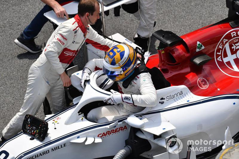 Седьмая позиция в квалификации и старт с шестого места благодаря штрафу Даниэля Риккардо – лучший результат для Маркуса Эрикссона в Формуле 1