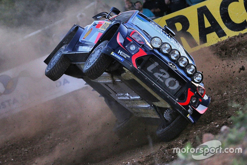 L'incidente di Thierry Neuville, Nicolas Gilsoul, Hyundai New i20 WRC, Hyundai Motorsport