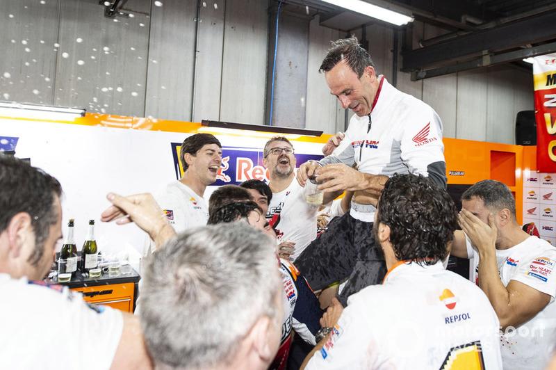 Marc Marquez, Repsol Honda Team, Alberto Puig, Repsol Honda Team Team Principal