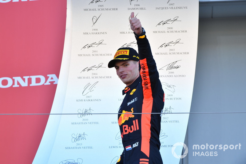 Derde plaats: Max Verstappen, Red Bull Racing