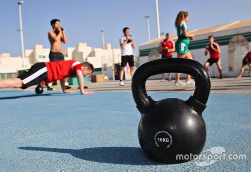 Audi Sport Fitness kamp