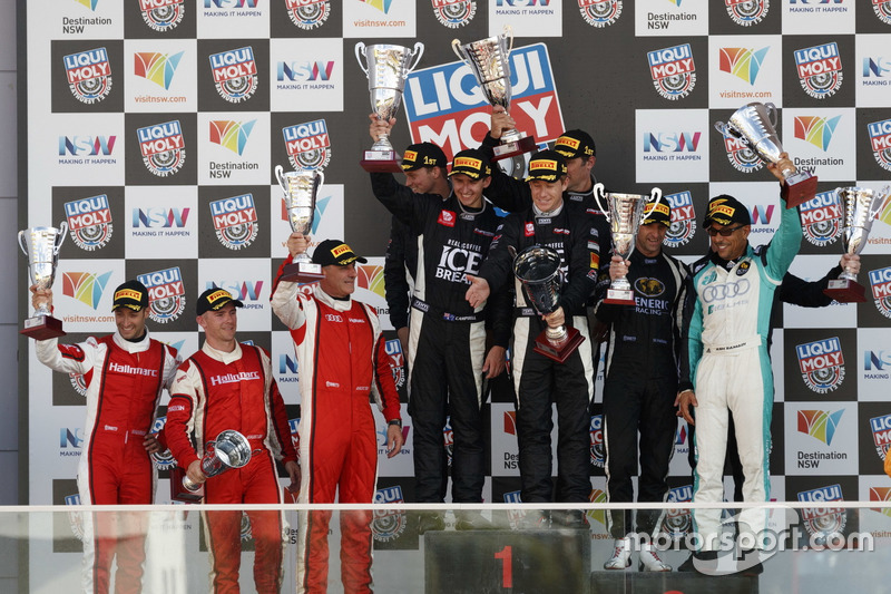 Podium Pro-Am: 1. #12 Competition Motorsports powered by Ice Break, Porsche 991 GT3 R: David Calvert