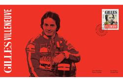 Gilles Villeneuve stamp