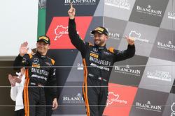 Race winners Franck Perera, Maximilian Buhk