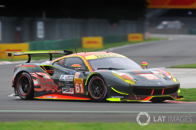 5. GTE-Am: #61 Clearwater Racing, Ferrari 488 GTE