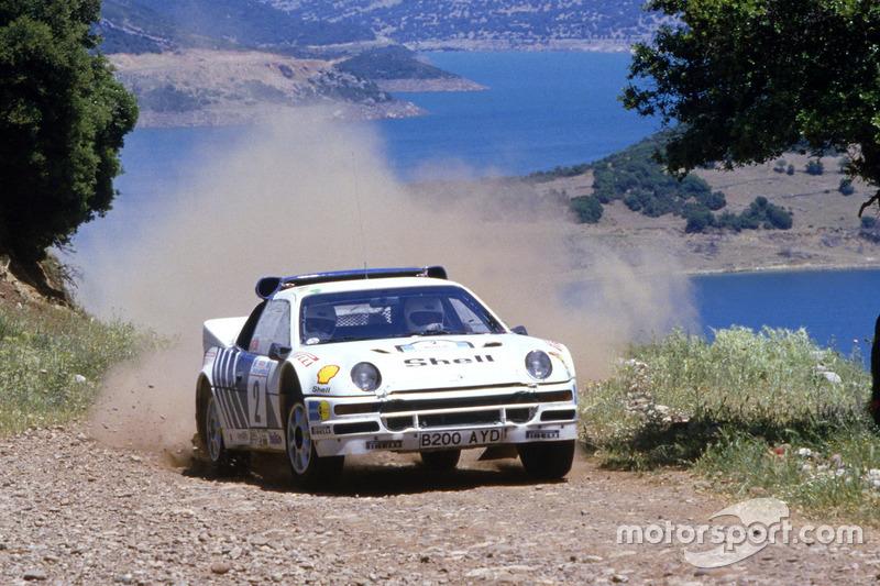 Stig Blomqvist, Bruno Berglund, Ford RS200