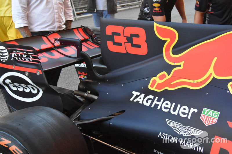 Détails de la Red Bull Racing RB13