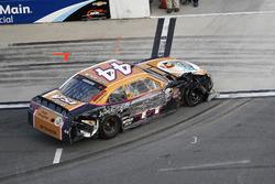 Benny Gordon, TriStar Motorsports Toyota after the crash