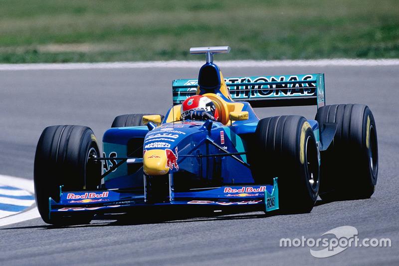 1998: Johnny Herbert, Sauber C17 Petronas