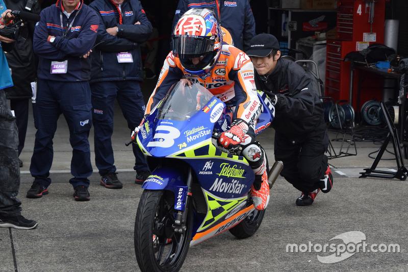 Dani Pedrosa, RS125RW