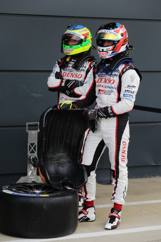 Jose Maria Lopez and Mike Conway, TOYOTA GAZOO Racing