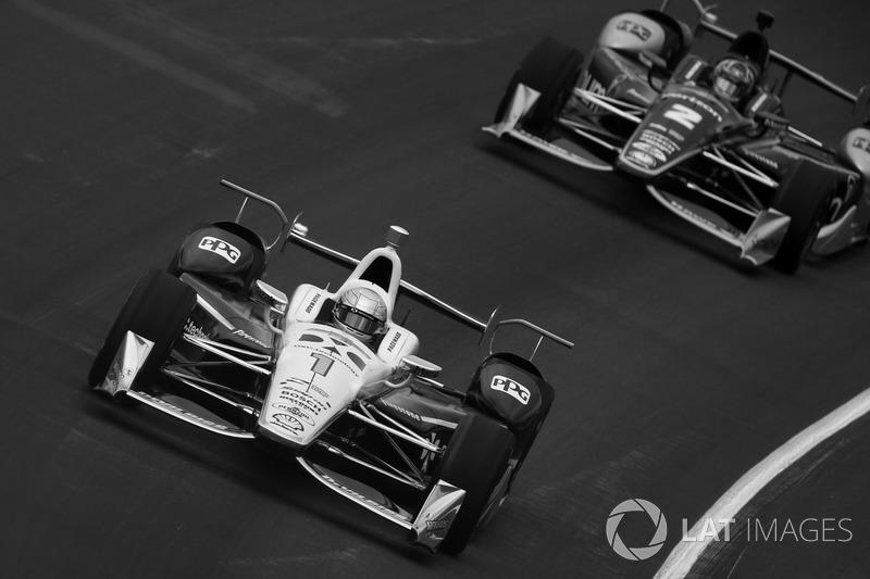 Симон Пажено и Джозеф Ньюгарден, Team Penske Chevrolet