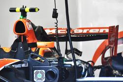 McLaren MCL32, achterkant