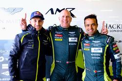GTE-Am-Polesitter: #98 Aston Martin Racing, Aston Martin Vantage: Paul Dalla Lana, Pedro Lamy, Mathias Lauda