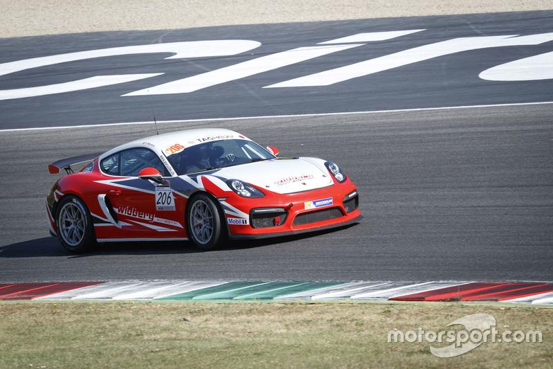 Patrick Meystre, Porsche Cayman GT4 CS, Widberg Motorsport