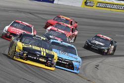 Darrell Wallace Jr., Roush Fenway Racing Ford, Matt Tifft, Joe Gibbs Racing Toyota
