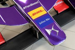 DS Virgin Racing front wing detail