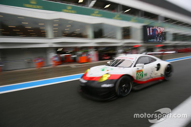8. GTE-Pro: #92 Porsche GT Team, Porsche 911 RSR