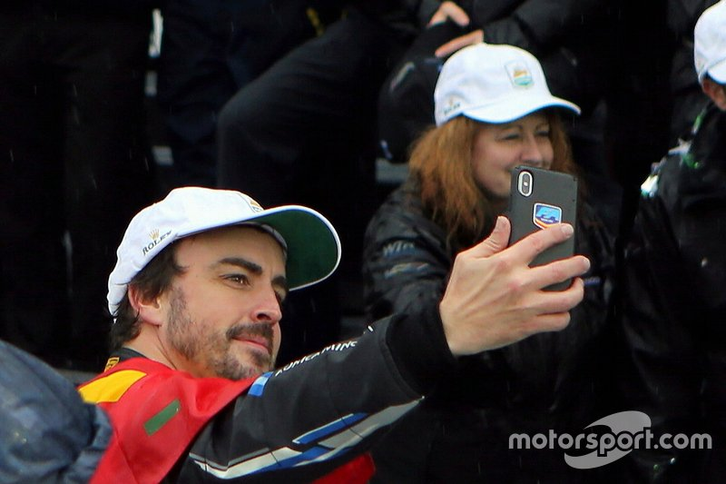 #10 Konica Minolta Cadillac DPi-V.R.: Fernando Alonso tras ganar las 24 Horas de Daytona