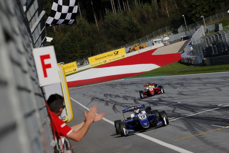 Европейская Формула 3, IX этап, «Ред Булл Ринг»