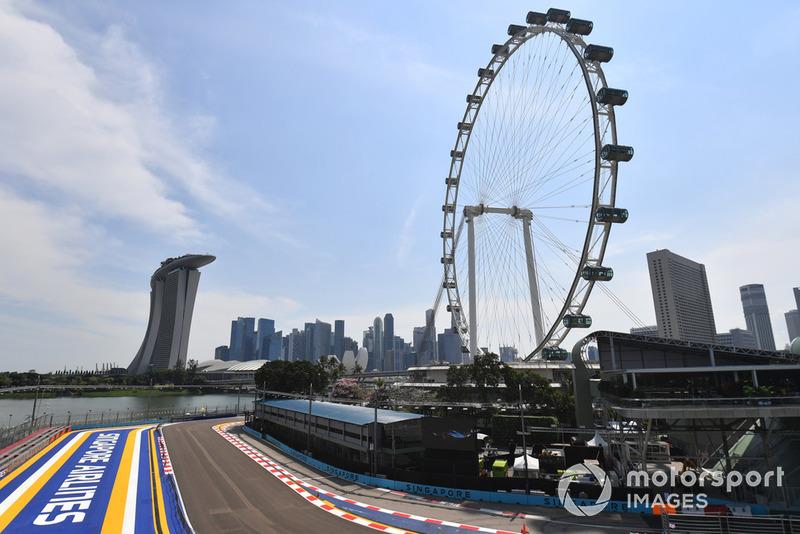 La grande roue de Singapour