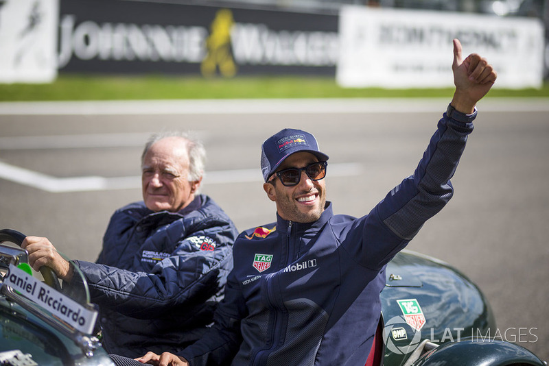 Belga Nagydíj - versenyzői felvonulás - F1 2018