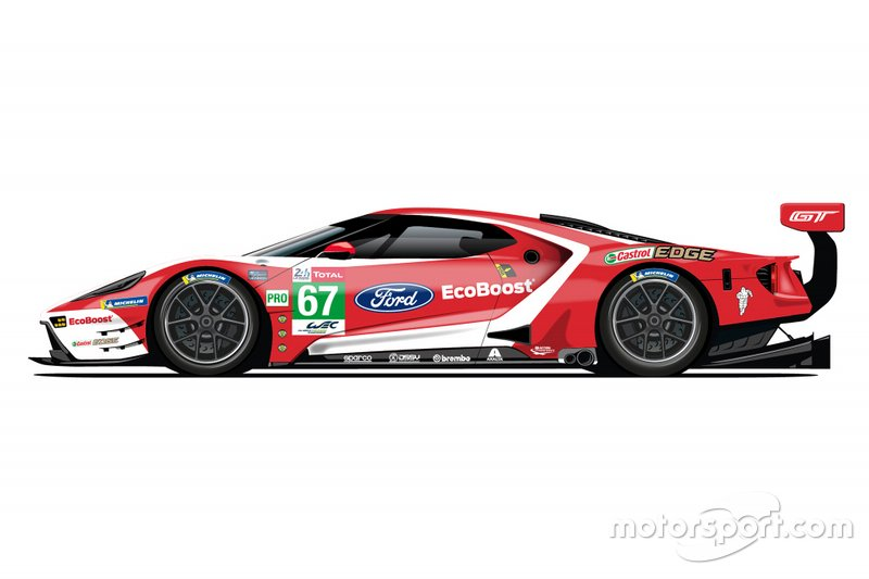 Ford GT livery #67