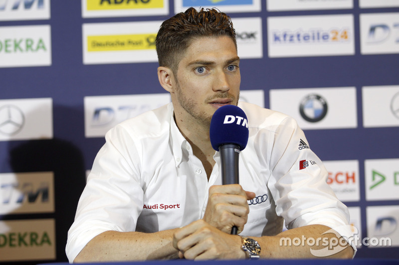 Press Conference; Edoardo Mortara, Audi Sport Team Abt Sportsline, Audi RS 5 DTM