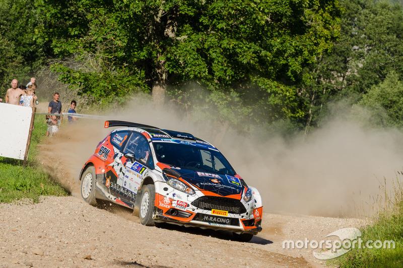 Алексей Лукьянюк и Алексей Аранаутов, Ford Fiesta R5