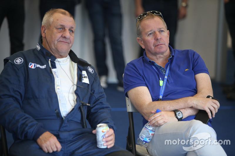 Richard Dean und Martin Brundle, United Autosports