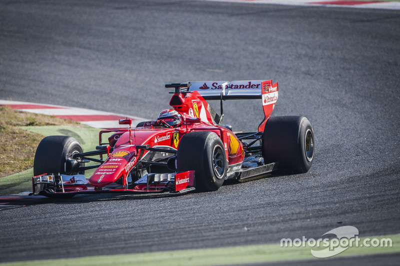 Kimi Raikkonen, Ferrari con le Pirelli 2017