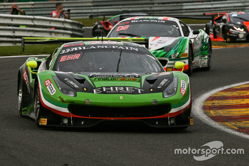 #333 Rinaldi Racing, Ferrari 488 GT3: Rinat Salikhov, Pierre Ehret, Alexander Matschull, Marco Seefried