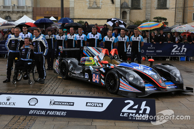 #84 SRT41 by Oak Racing Morgan - Nissan: Фредерік Соссе, Крістоф Тансо, Жан-Бернар Буве