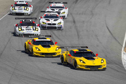 #4 Corvette Racing Chevrolet Corvette C7.R: Oliver Gavin, Tommy Milner, #3 Corvette Racing Chevrolet Corvette C7.R: Antonio Garcia, Jan Magnussen