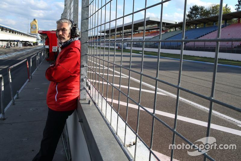 Dieter Gass, Head of DTM at Audi Sport