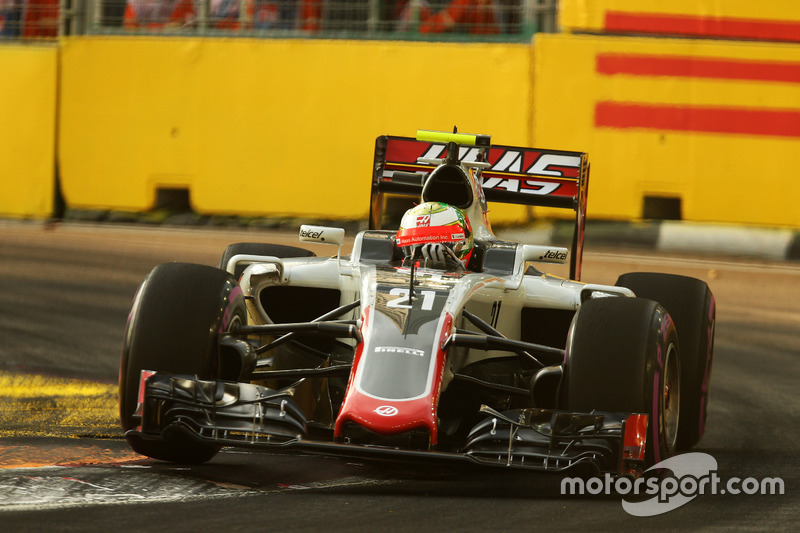 13º: Esteban Gutiérrez, Haas F1 Team VF-16