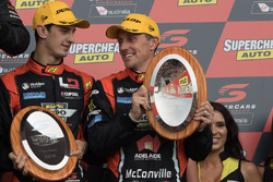 Podium: third place Nick Percat, Cameron Mcconville, Lucas Dumbrell Motorsport Holden