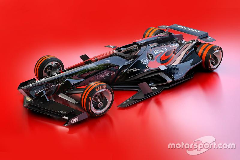 McLaren 2030 fantezi tasarım