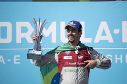 Lucas di Grassi, Audi Sport ABT Schaeffler, en segundo puesto