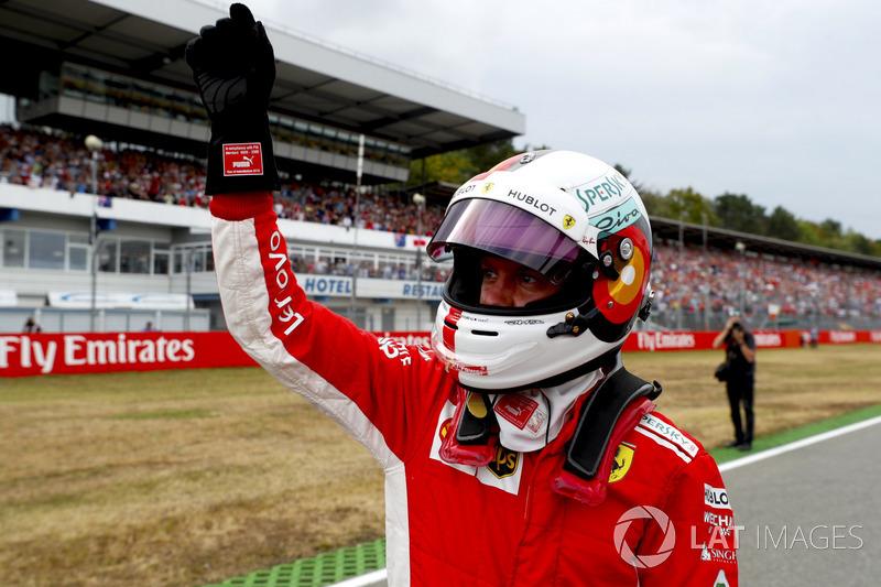 11. GP Jerman - Pole: Sebastian Vettel