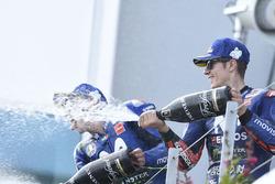 Podio: tercero, Maverick Viñales, Yamaha Factory Racing