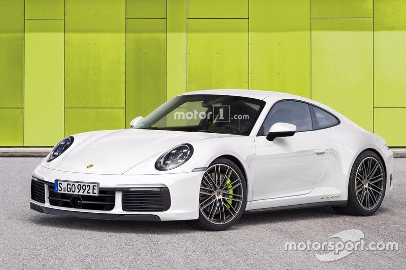 Porsche 911 Hybrid (2019)