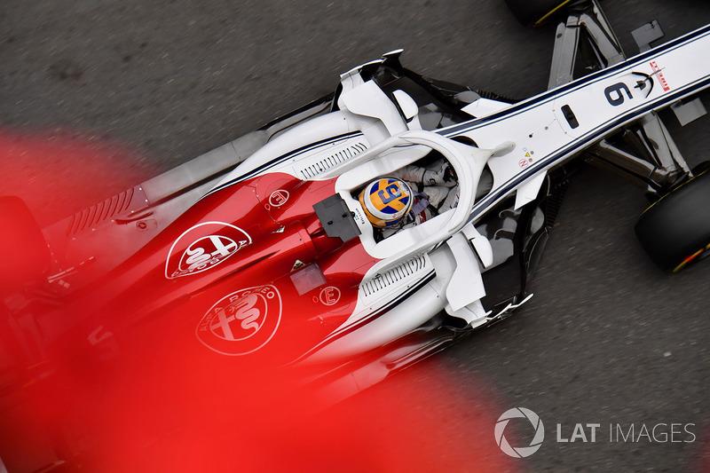 18: Marcus Ericsson, Sauber C37, 1'45.541
