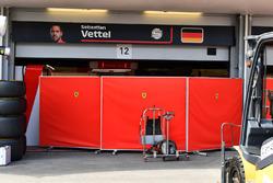 Ferrari garage screens