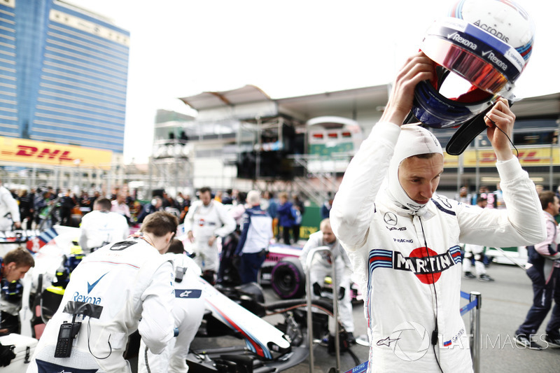 Sergey Sirotkin, Williams Racing,