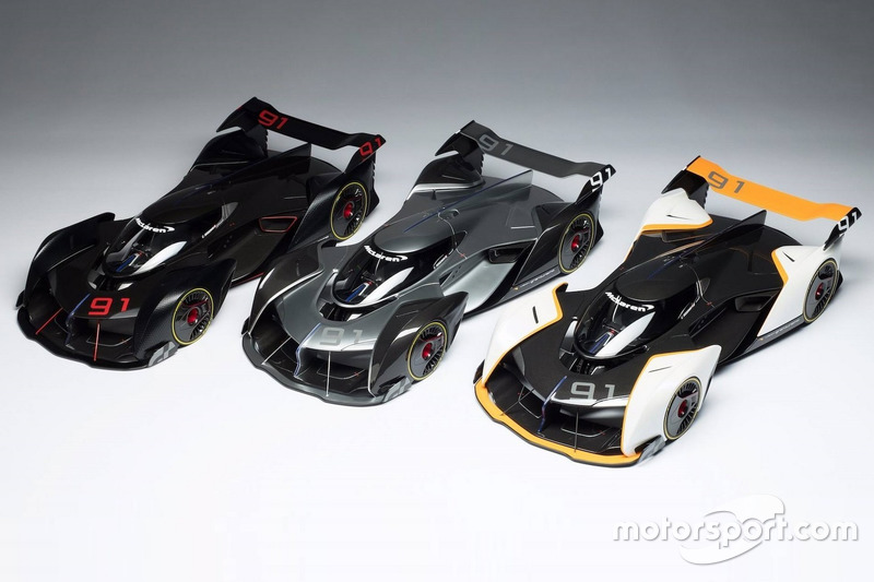 McLaren Ultimate Vision GT scale models