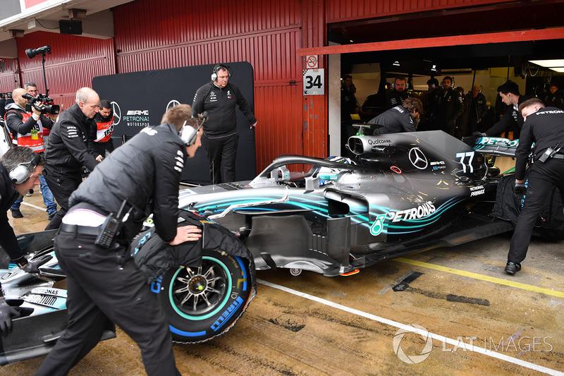 """A F1 voltou """"ao normal"""", sem grande interferência do clima."""