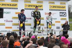 Podyum, Ollie Jackson, AmD Tuning Audi S3, Senna Proctor, Power Maxed Racing Vauxhall Astra  and Jake Hill, Team Hard Volkswagen CC