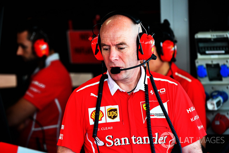 Jock Clear, ingeniero jefe Ferrari